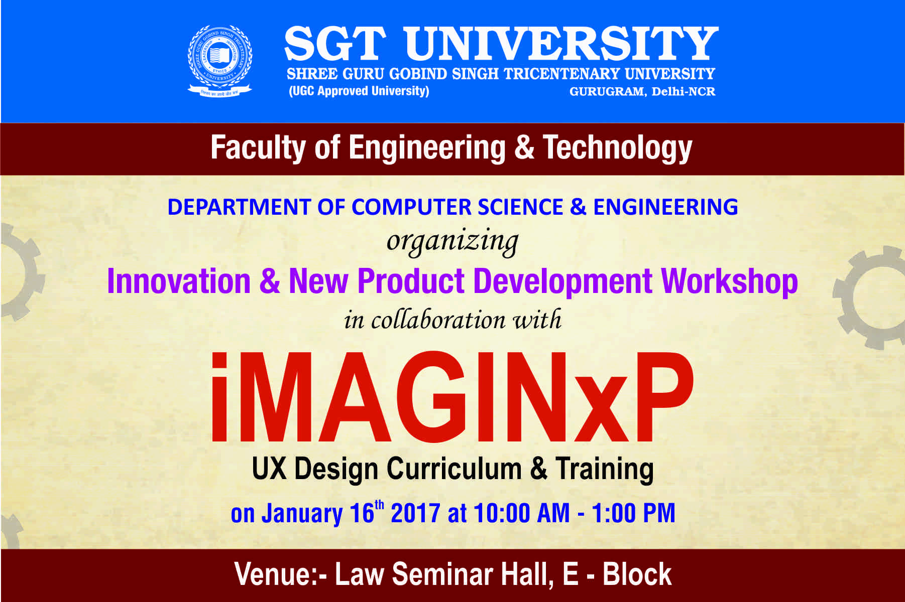 Fet sgt univ workshop on innovation new product fet for Product innovation agency