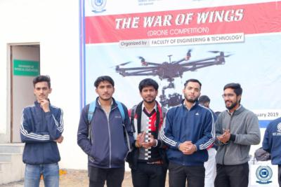 Drone Competition titled 'War of Wings'