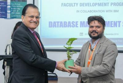 Faculty Development Programme on DBMS in collaboration with IBM