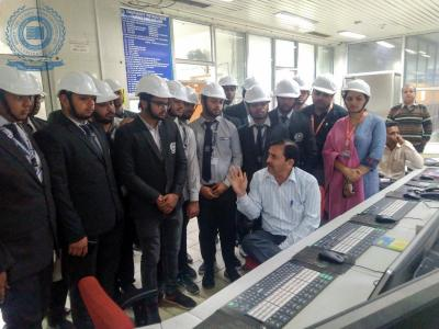 industrial trip to Panipat Thermal Power Station
